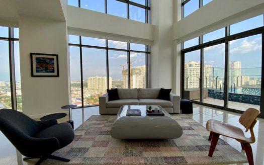 ID: 1434 | The Nassim Thao Dien | Luxury 3 floor penthouse for rent with river view 2