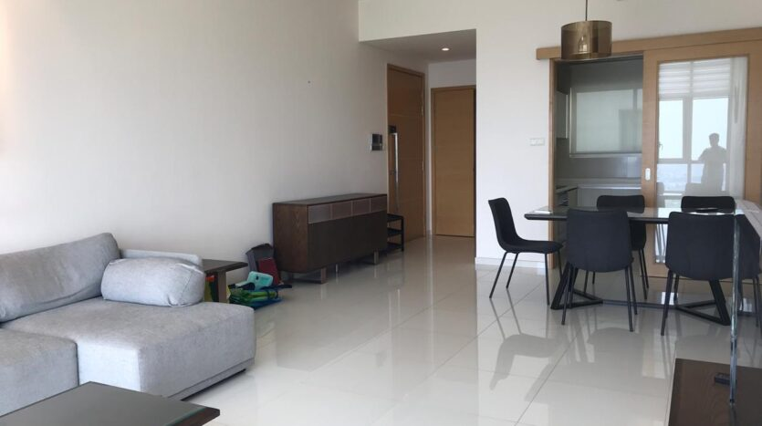 High floor apartment in HCMC for rent