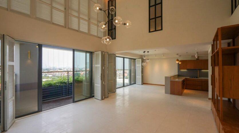 duplex apartment in Ho chi minh city