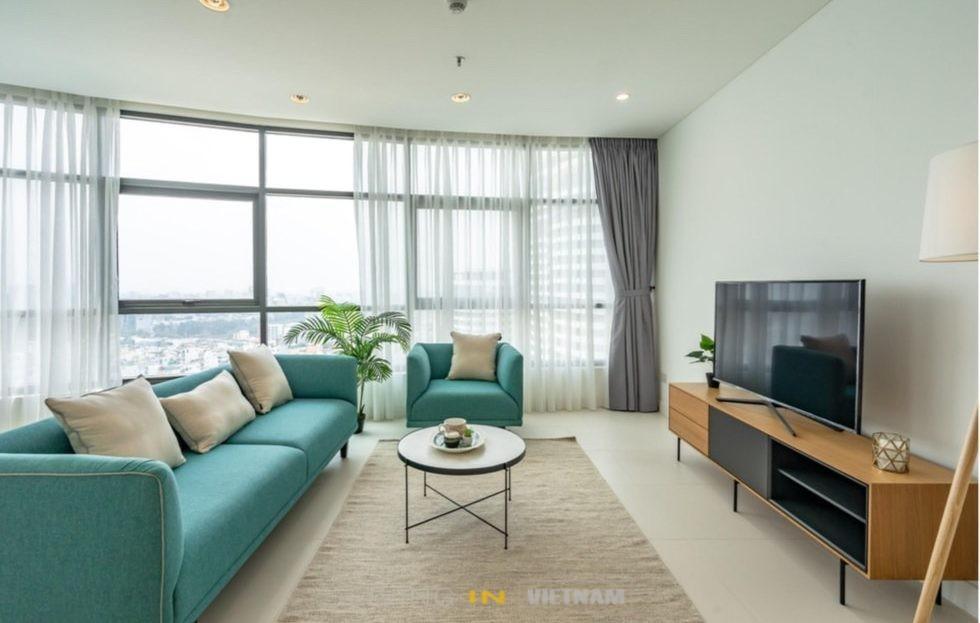 Saigon Apartment - Panoramic - 3 bedrooms - City Garden