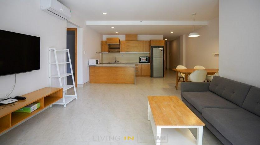 Thao Dien Apartment - 3 bedroom with large balcony