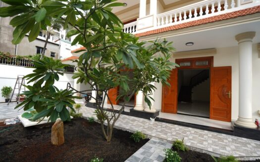 ID: 681 | Brand new house with garden in Saigon 5