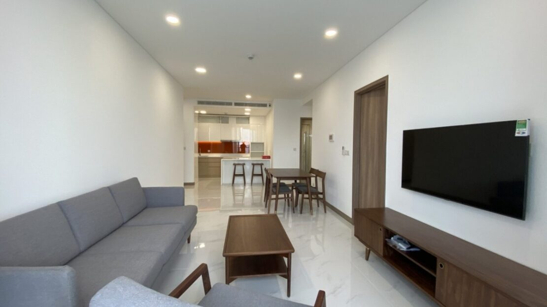 Sunwah Pearl 2 bedroom condo for lease